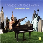 Ingemar Fridell - Rhapsody Of Piano Delights DB Cover Art