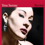 Sumac, Yma - Recital CD Cover Art