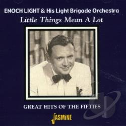 Light, Enoch - Little Things Mean a Lot: Great Hits of the Fifties CD Cover Art