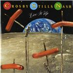 Crosby, Stills, and Nash - Live It Up DB Cover Art