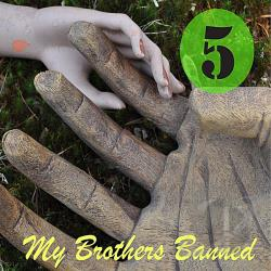 My Brothers Banned - Five CD Cover Art