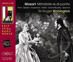 Ford / Mozart / Murph / Oelze / Sieden / Spence - Mozart: Mitridate re di Ponto CD Cover Art
