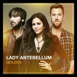 Lady Antebellum - Golden CD Cover Art