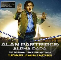 Alan Partridge: Alpha Papa CD Cover Art