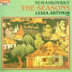 Artymiw / Tchaikovsky - Peter Lyich Tchaikovsky: The Seasons, Op.37a CD Cover Art