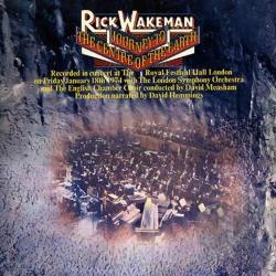 Wakeman, Rick - Journey to the Centre of the Earth CD Cover Art