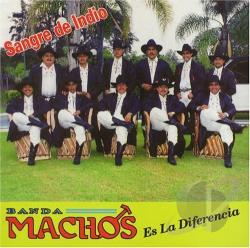 Banda Machos - Sangre de Indio CD Cover Art