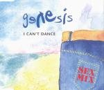 Genesis - I Can't Dance CD Cover Art