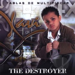 Xavi The Destroyer - Tablas De Multiplicar CD Cover Art