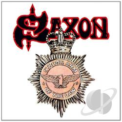 Saxon - Strong Arm of the Law LP Cover Art
