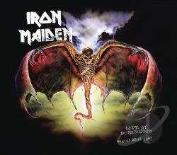 Iron Maiden - Live at Donington CD Cover Art