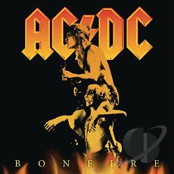 AC/DC - Bonfire CD Cover Art