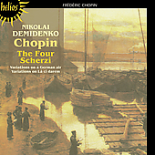Chopin, F. - Chopin: The Four Scherzi; Variations CD Cover Art