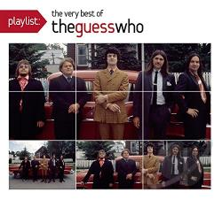 Guess Who - Playlist: The Very Best of the Guess Who CD Cover Art