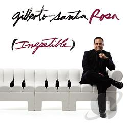 Santa Rosa, Gilberto - Irrepetible CD Cover Art