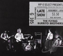 Flying Burrito Brothers - Authorized Bootleg: Fillmore East, New York, N.Y. - Late Show, November 7, 1970 CD Cover Art
