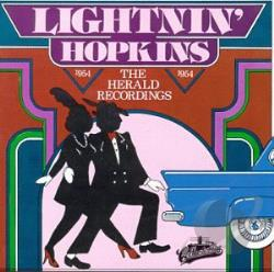 Hopkins, Lightnin' - Herald Recordings - 1954 CD Cover Art