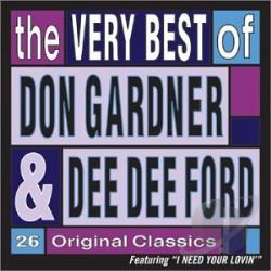 Don Gardner & Dee Dee Ford - Very Best of Don Gardner & Dee Dee Ford CD Cover Art