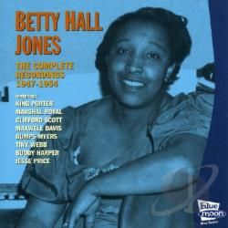 Jones, Betty Hall - Complete Recordings 1947-1954 CD Cover Art