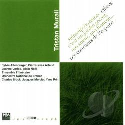 Artaud / Bruck / French Natil Orch / Murail / Noel - Murail-Memoire Erosion-Ethers-Les Courants D/Var CD Cover Art