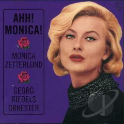 Zetterlund, Monica - Ahh! Monica! CD Cover Art