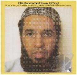 Muhammad, Idris - Power of Soul CD Cover Art