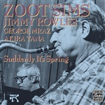 Sims, Zoot - Suddenly It's Spring CD Cover Art
