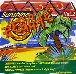 Sunshine Reggae Vol. 2 CD Cover Art