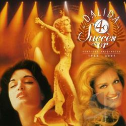 Dalida - 40 Success En Or: 1956-1997 CD Cover Art