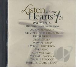 Listen To Our Hearts Vol. 2: Moments, Devotions And Songs CD Cover Art
