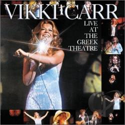 Carr, Vikki - Live at the Greek Theatre CD Cover Art