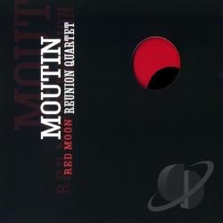 Moutin Reunion Quartet - Red Moon CD Cover Art