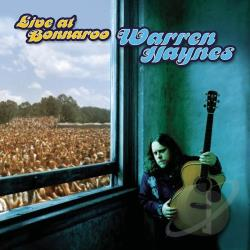 Haynes, Warren - Live at Bonnaroo CD Cover Art