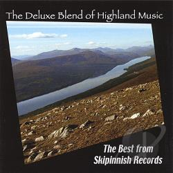 Deluxe Blend of Highland Music: The Best of Skipinnish Records CD Cover Art
