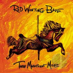 Red Wanting Blue - These Magnificent Miles CD Cover Art