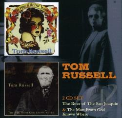 Russell, Tom - Rose of San Joaquin/Man from God Knows Where CD Cover Art