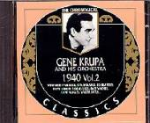 Krupa, Gene - 1940 Vol. 2 CD Cover Art