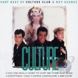 Culture Club - Best Of Culture Club & Boy George CD Cover Art