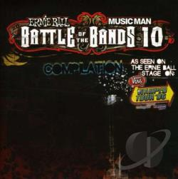 Ernie Ball Battle of the Bands, Vol. 10 CD Cover Art