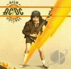 AC/DC - High Voltage LP Cover Art