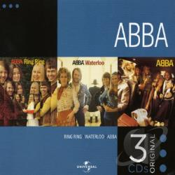 ABBA - 3 Original CDS V.1: Waterloo/Ring Ring/Abba CD Cover Art