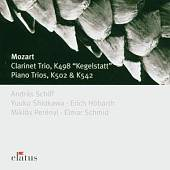Mozart: Clarinet Trio & 2 Piano Trios - Mozart: Clarinet Trio Kegelstatt; Piano Trios K502 & K542 CD Cover Art