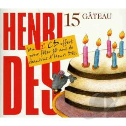 Des, Henri - Gateau Vol 15 CD Cover Art