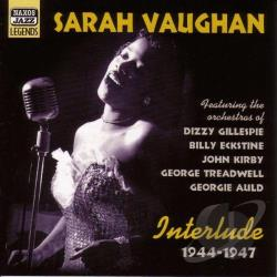 Vaughan, Sarah - Interlude: 1944-1947 CD Cover Art
