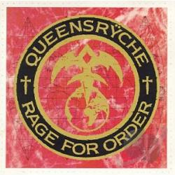 Queensryche - Rage for Order CD Cover Art