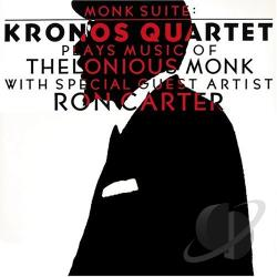 Kronos Quartet - Monk Suite CD Cover Art