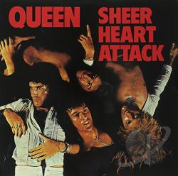Queen - Sheer Heart Attack LP Cover Art