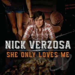 Nick Verzosa - She Only Loves Me CD Cover Art