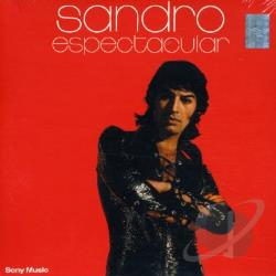 Sandro - Espectacular CD Cover Art