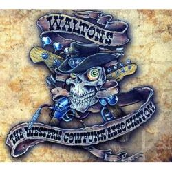 Waltons (US) / Waltons (Germany) - Western Cowpunk Association CD Cover Art